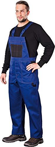 Arbeitslatzhose Latzhosen Latzhose Arbeitshose multifunktion Hose Arbeitskleidung versch. Farben Gr. 46-62 (58, blau)