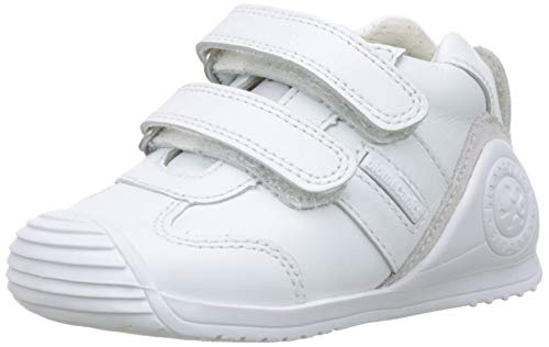 Biomecanics 151157-1, Zapatillas de Estar por casa Bebé Unisex, Blanco Blanco Sauvage Colores...