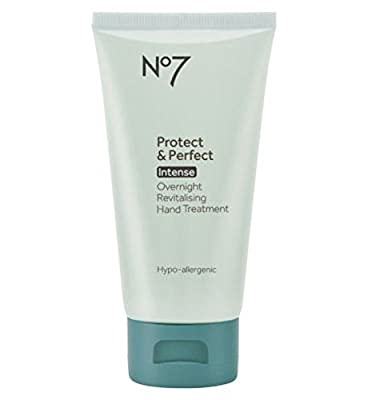 Boots No7 Protect & Perfect Intense Overnight Hand Treatment 75ml