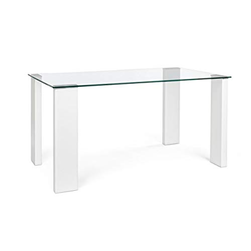 ARREDinITALY Table Plan Verre Coupe Glace 140 x 80