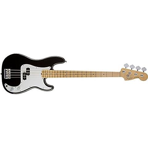 Fender 0193602706American estándar Precision Bass arce diapasón guitarra eléctrica–color negro