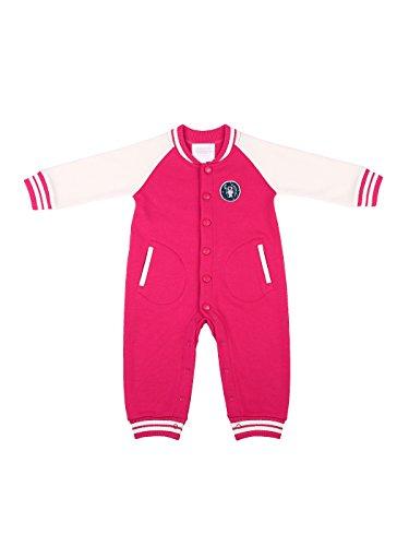 oceankids-bebe-garcons-bebes-filles-rose-rouge-combinaison-de-jersey-cotele-combinaisons-et-barboteu