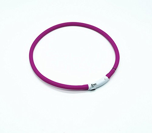Case-Wonder-LED-Dog-Safety-Collar-USB-Rechargeable-Length-Adjustable-Pet-Dog-Collar-Flashing-Dog-Collar-Improved-Dog-Visibility-Safety-3-Lights-Mode-8-Colors-Purple