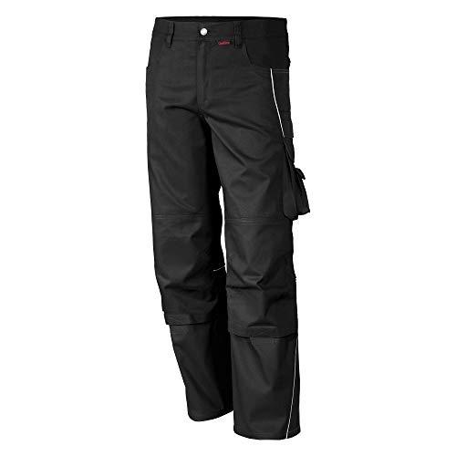 Qualitex PRO Bund-Hose Arbeits-Hose MG 245 - schwarz - Größe: 50 -
