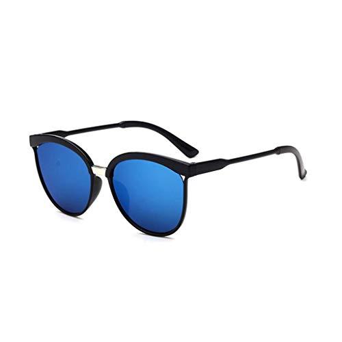 EUCoo Modische Sonnenbrille, AusgehöHlte Big Box-Sonnenbrille, Reflektierende Uv-Schutzbrille(D)