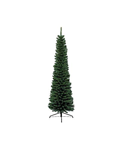 Kaemingk 680060 Pencil Pine, Fino árbol, de PVC, Interior, Altura 150 cm