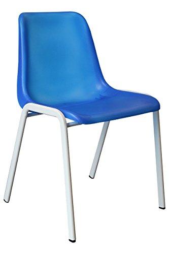 Designer Besucherstuhl Esszimmerstuhl Praxisstuhl Stühle weiss, pink, grün, blau, orange, lila...