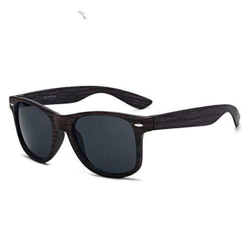 SLONGK Retro Handgemachte Blau Farbige Holzrahmen Sonnenbrille Polarisierte Frauen Männer Sonnenbrille Strand Anti-Uv Brillen für Fahren