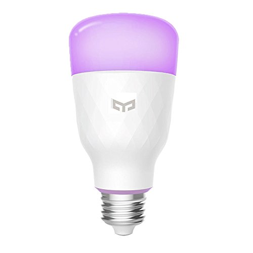 Foto Smart LED Light Bulb, 16 milioni di colori E27 10W RGB Dimmerabile 800lm White Light Controllo Wi-Fi Smart Home App Telecomando