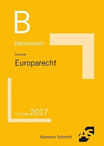 Basiswissen Europarecht: 2017