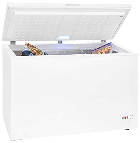 Gefriertruhe A+++ | 301 Liter | Innenbeleuchtung | Alarmfunktion | 4*-Gefrierklassifizierung | Temperaturregelung