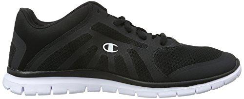 Champion - Low Cut Shoe Alpha, Sneaker Uomo Nero (New Black / White 2272)