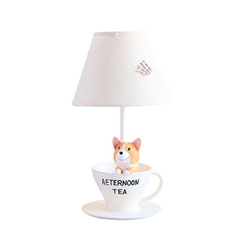 Gloabl-le gambe corte Corgi caldo e bello del fumetto animali piccola lampada da tavolo