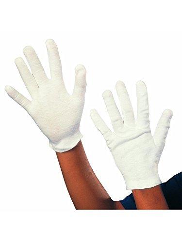 (Weiße Handschuhe Kostüm)