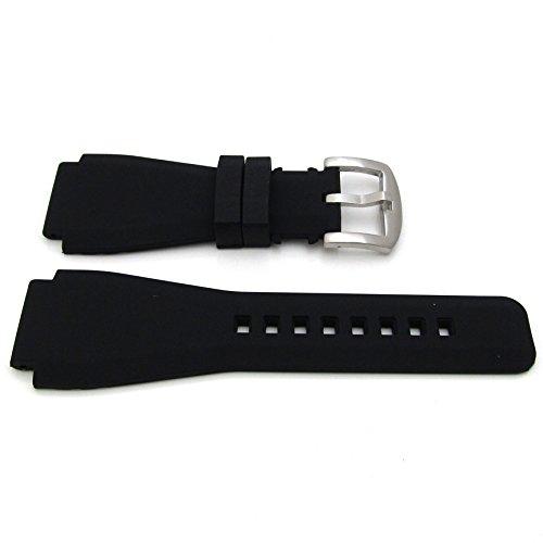 Für Bell & Ross Silikon Uhrenarmband 24mm Lug 22mm Schnalle Herren Band