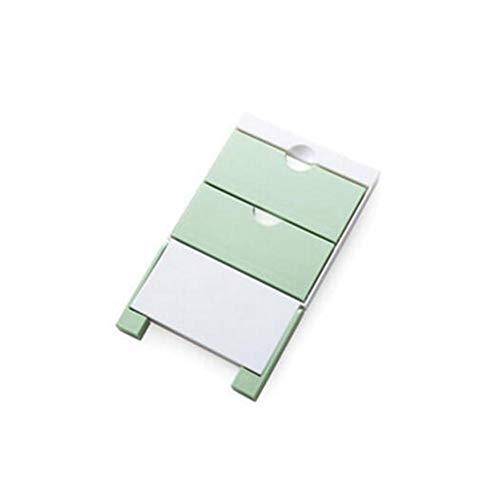 EgBert Kc-Sr09 Magnete Frigorifero Frigo Sidewall Carta Asciugamano Holder Storage Rack Scaffale Organizzatore - Verde