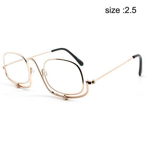 Lupe Make-up-brille (PerGrate Faltbare Make-up-Brille Flip Portable Lesebrille Lupen)