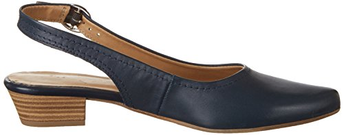 Tamaris Damen 29400 Slingback Blau (NAVY LEATHER 848)