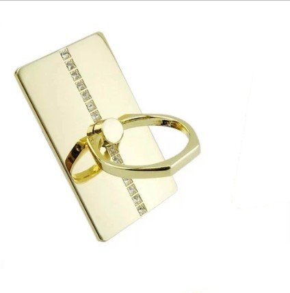 360° venicen Gold Ohrstecker Ring Halter für alle Smart Handy und Smart Gerät mit Diamant ()