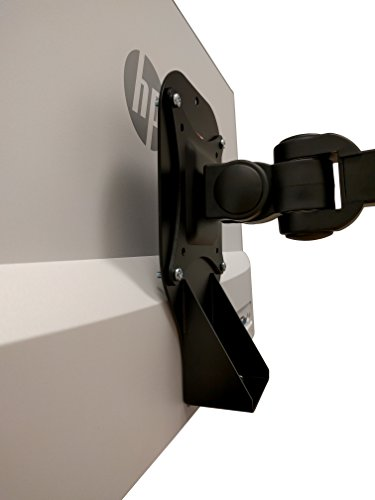 VESA Mount Adapter for HP 27er, 27es, 27ea, 25er, 25es, 24ea, 23er, 23es, 22er, and 22es Monitors [Patent Pending] - by HumanCentric