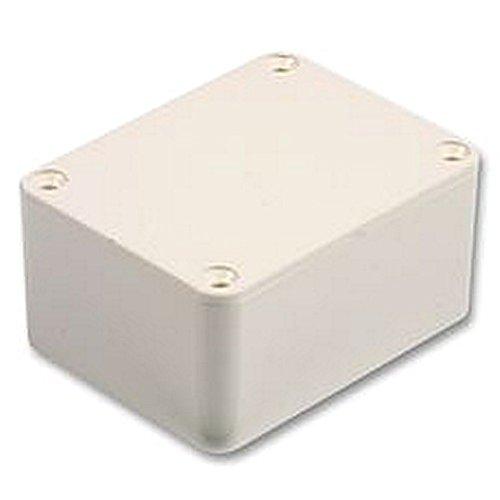 Unbekannt Box ABS weiß 75x 56x 25mm Gehäuse & 48,3cm Schrank Racks - Abs Kabel Subwoofer