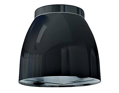 Bielmeier v875700Hotte îlot/31,6cm/éclairage LED/Noir