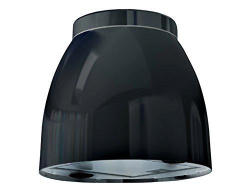Bielmeier V875700 Inselhaube / 31,6 cm / LED-Beleuchtung / schwarz
