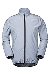 Mountain Warehouse 360 Reflektierende Herrenjacke Silber Large
