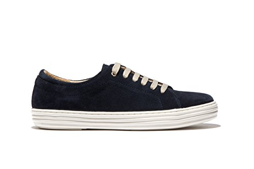 OPP Homme Chaussures Mode Casual Lace-Up Plate-Forme Chaussures de Loisir Bleu