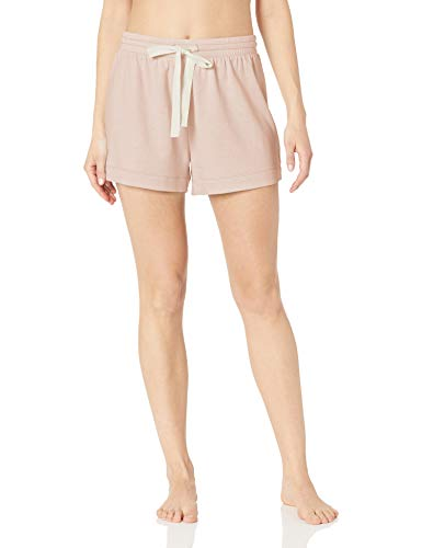 Amazon Essentials Women's Standard Lounge Terry Short