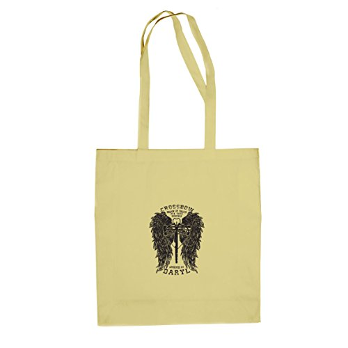 Daryl Wings - Stofftasche / Beutel Natur