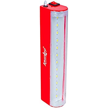 Amardeep (Made in India) SMD LED Emergency Rechargeable Light - RED