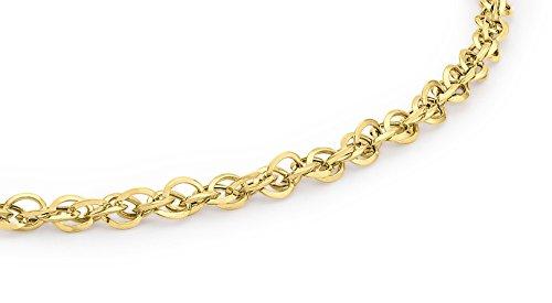 Imagen de carissima gold pulsera de mujer con oro amarillo 9 k 375 , 18 cm alternativa