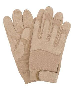 Mil-Tec US Army Gloves Taktische Einsatzhandschuhe Military Arbeitshandschuhe (Coyote/S/7)