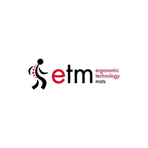 etm® Schmutzfangmatte - Note 1,6: Sieger Preis-Leistung - Fußmatte in vielen Größen - Fußabstreifer für Haustür innen und außen (Anthrazit-Schwarz, 60x90 cm) - 6