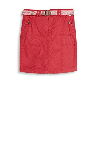 edc by ESPRIT Damen Rock Rot (Red 630)