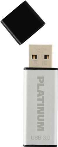 Platinum Alu 8 GB USB-Stick USB 3.0 silber