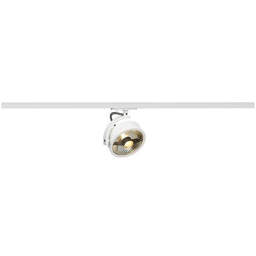 SLV KALU TRACK Leuchte Indoor-Lampe Aluminium/Kunststoff Weiß Lampe innen, Innen-Lampe