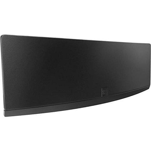 Verstärkte Gebogene Zimmerantenne von One For All - Geeignet für den Empfang von DVB-T & DVB-T2 - Full HD ready - Schwarz - SV9430