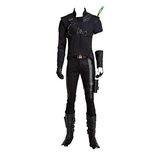 Glam Cos Jeremy Renner American Captain: Civil War - Hawk-Eye Male Cosplay Kostüm - Blau - (Hawkeye Cosplay Kostüme)