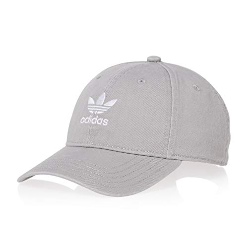 or Washed Baseball-Cap, Solid Grey/White, FR Unique (Taille Fabricant : OSFM) ()