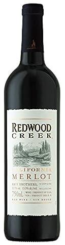 Redwood Creek Merlot - Frei Brothers | Stillwein | amerikanischer Rotwein aus Kalifornien | 1x 0,75 Liter