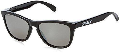 Ray-Ban Herren 0OO9013 Sonnenbrille, Braun (Polished Black), 54