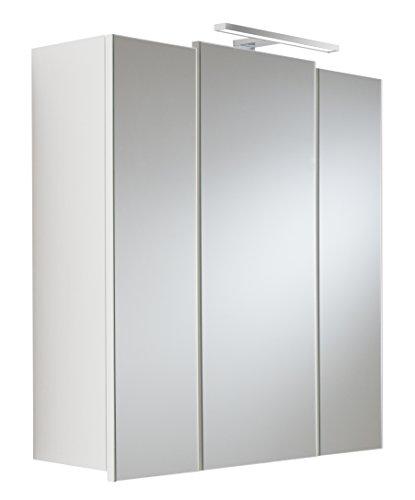 Spiegelschrank mit Beleuchtung von Posseik,weiß