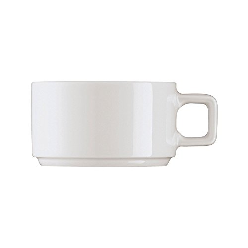 Café au lait-tasse empilable 0, 35 l forme 2006 pETER sCHMIDT arzberg-blanc