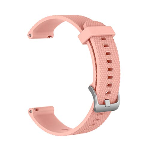 Für Polar Ignite Armband,Colorful Sport Silikon Uhrenarmband Ersatzarmband Einstellbar Handgelenk Strap Band für Polar Ignite, Klein Groß (Khaki, S) -