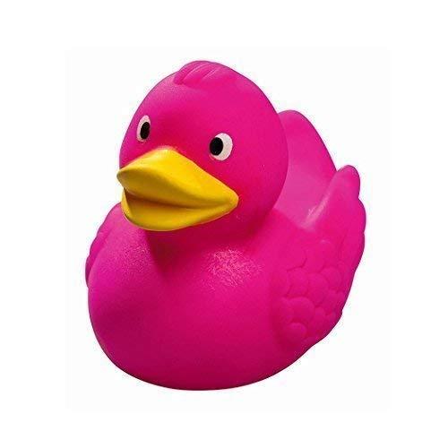 Mein Zwergenland Quietsche-Ente Quietscheente Badeente Bath Duck rosa pink