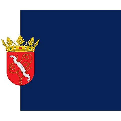 magFlags Bandiera Setenil de las Bodegas Spain | Setenil de las Bodegas, in Cádiz province, Spain | Paño rectangular de proporciones 1 1,5, dividido en tercia al asta 90x150cm