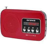 Orava RP-130 R Portable Numérique Rouge Radio portable - Radios
