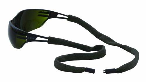 Hundespielzeug Sicherheit 13002100K feuerbeständig Kevlar Eyewear Retainer mit Single Breakaway, Schwarz (6Stück)
